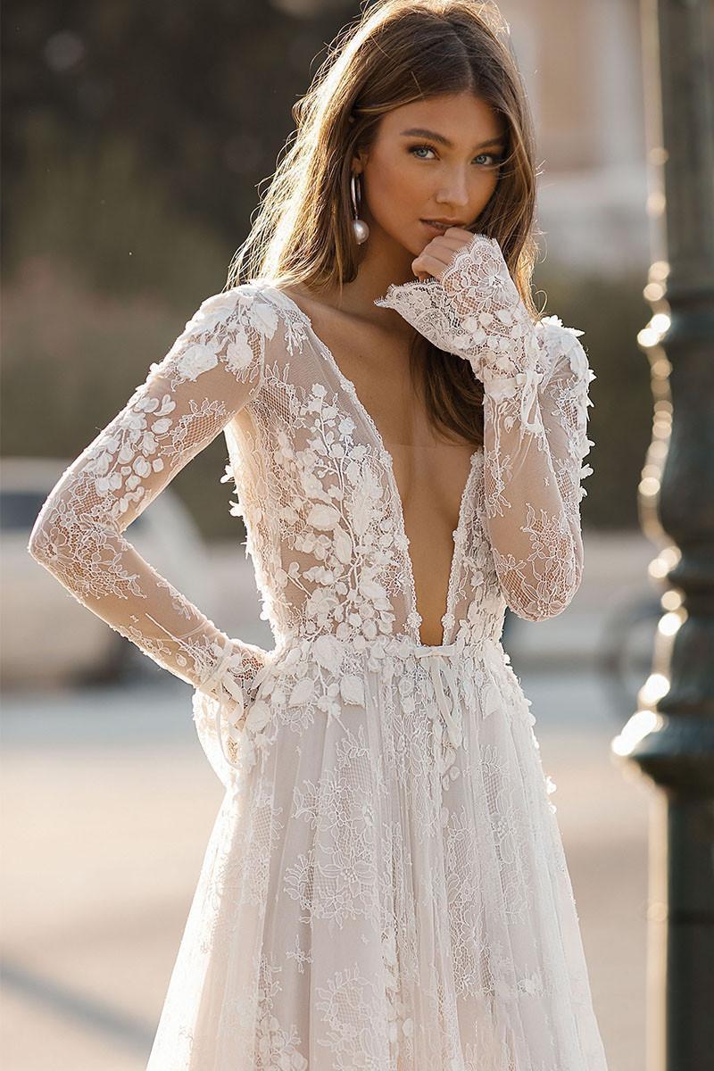 2019-elegant-berta-wedding-dresses-sexy-deep (2)