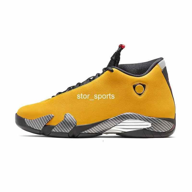 2019 New 14 SE Reverse Ferrar Mens Basketball Shoes 14s Mens basketball sneakers University Gold US8-12