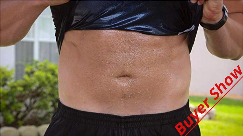 CXZD Sweat Shaper Vest for Men Women Slimming Belt Belly Slimming Vest Body Shaper Fat Burning Shaperwear Waist Traine Waist Sweat Corset (13)