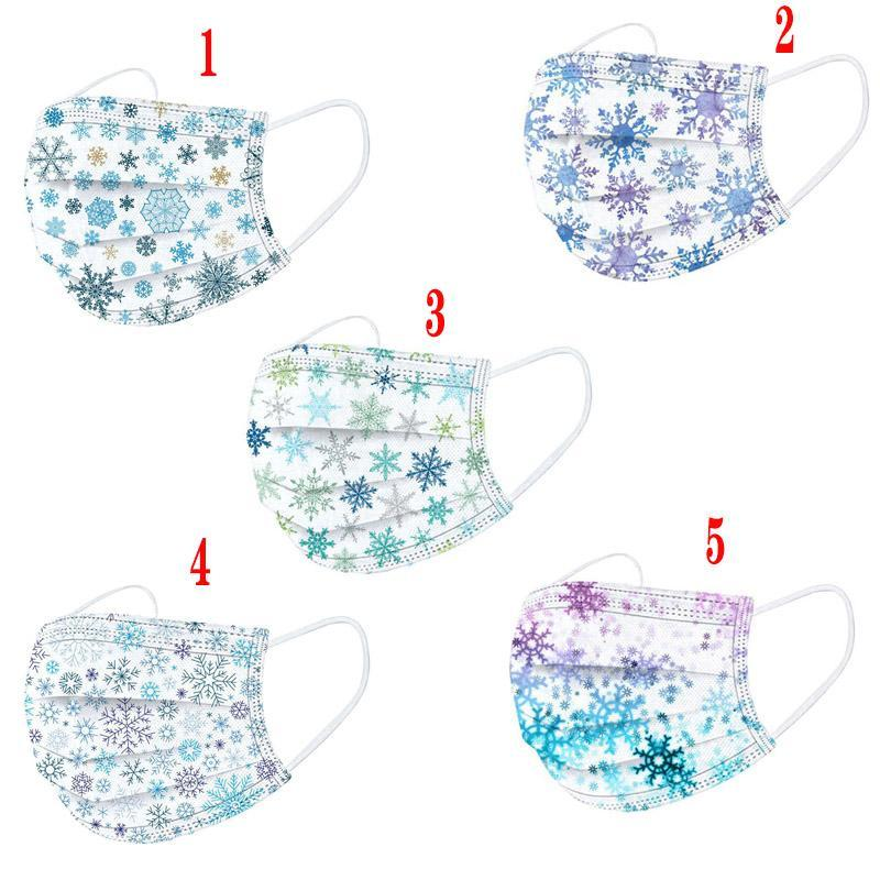 In Stock Three-layer Adult Disposable Protective Masks Dust-proof Breathable Disposable Printed Masks Fashionable Gradient Starry Sky Masks