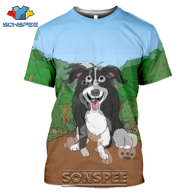 SONSPEE 3D Print Mr Pickles T-shirts Men Women Casual Harajuku Short Sleeve Streetwear Hip Hop Anime Satan Evil Tees Tops Shirt (14)
