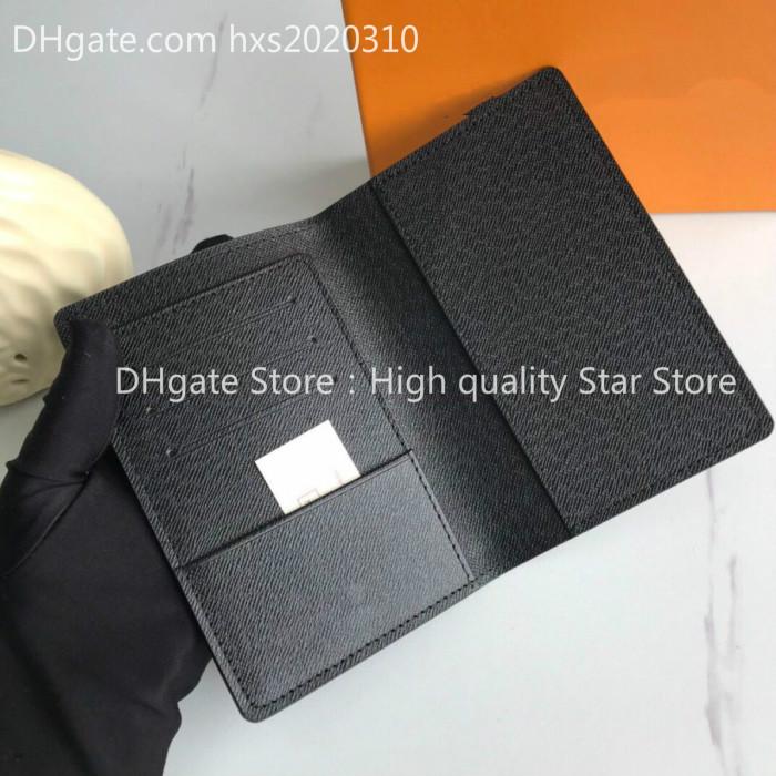 Women and men Passport Holders Cards Bag original box high quality fashion free shipt