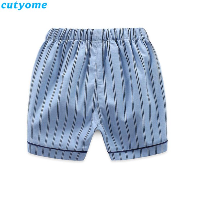 korean fashion toddler kids striped pajamas set09