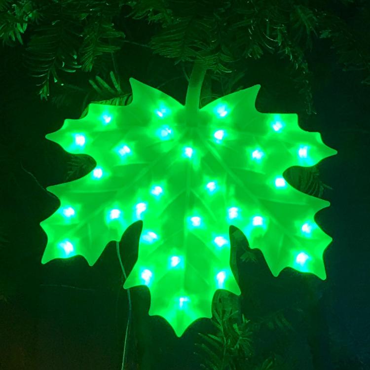 Green Maple Leaf1