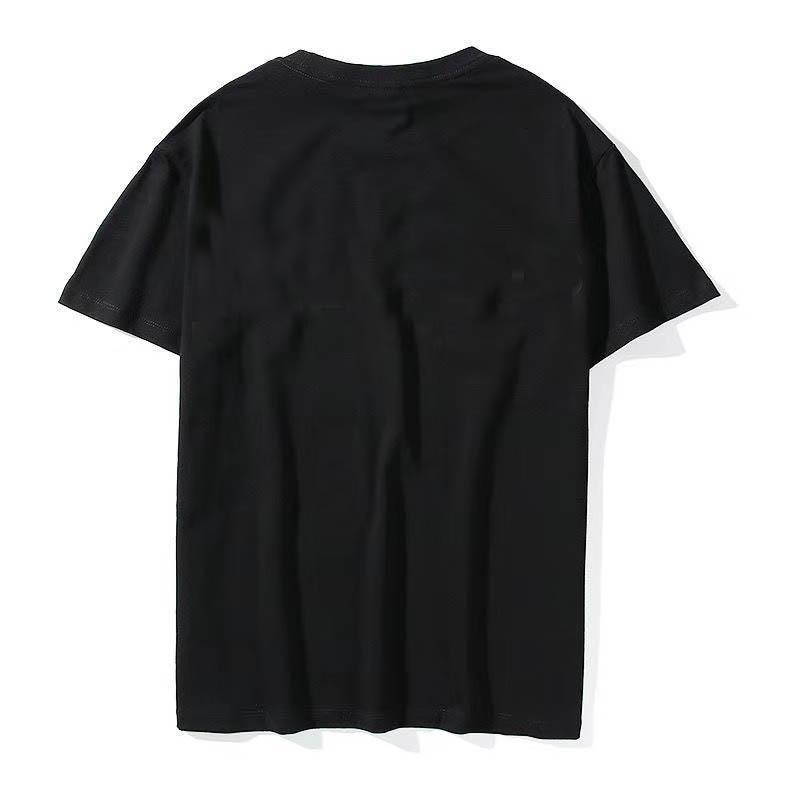 2021 NEW Season 7 Mens t-shirt Cotton Tshirt 3M Reflector Back Letters Oversize T shirt Summer t-shirt Women men tees Streetwear SIZE S-XL