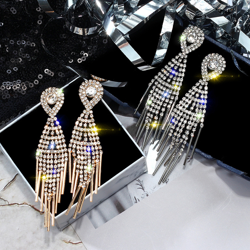 New-Arrival-Crystal-Ethnic-Water-Drop-Women-Dangle-Earrings-European-Fashion-Tassels-Long-Earrings-Korean-Jewelry (1)