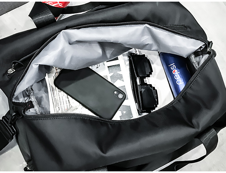 Sport Gym Bag Fitness Dry And Wet Separation Yoga Bag Waterproof Travel Shoes Handbag Women