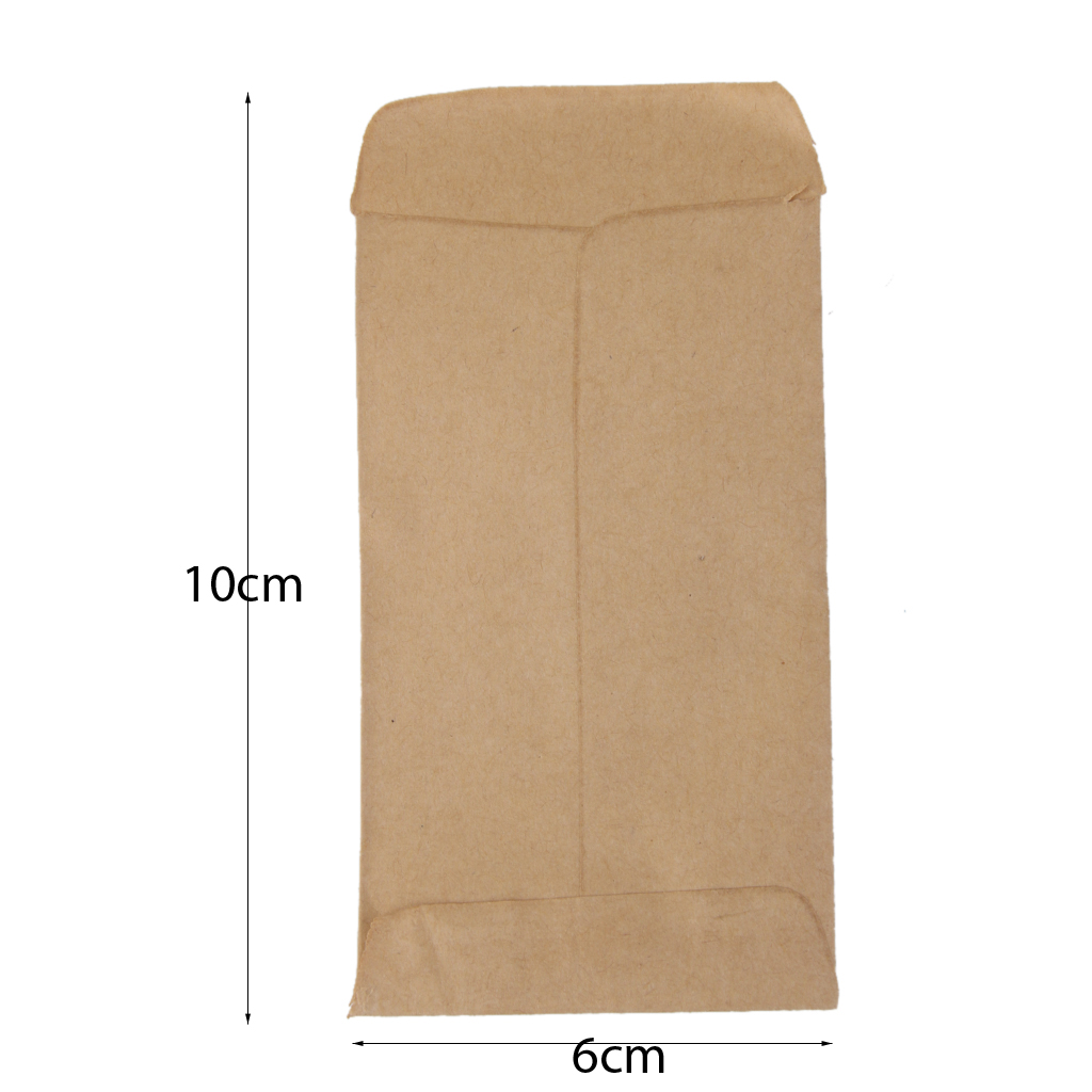 100pcs Kraft Paper Bags Food Tea Small Gift Bags Sandwich Bread Bags Party Wedding Supplies Wrapping Gift Portable Bags