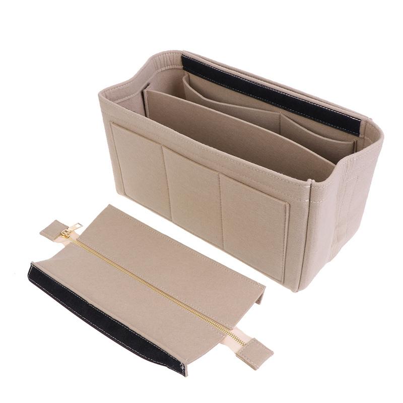 High-Quality-Multifunction-Handbag-Felt-Fabric-Bag-Purse-Insert-Storage-Pouch-Case-Structured-organizer-bags