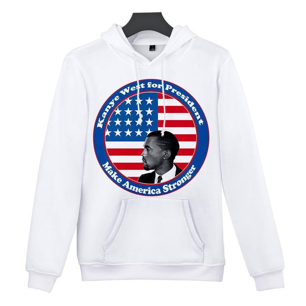 2020 Men and woman's Hoodies Sweatshirts U.S. Presidential campaign Biden Kanye West presidential campaign hoodie