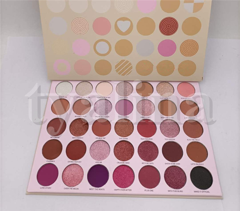 Face Makeup 35XO 35 Color eyeshadow palette Shimmer Matte Preseed eye shadow palette Powder