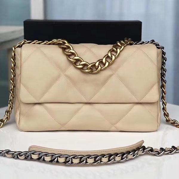 26cm/30cm/36cm 3 Sizes Goatskin Leather Crossbody Bag Hot-selling Bag