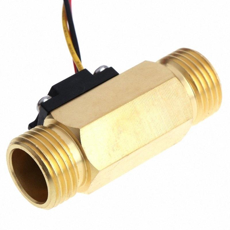 Interruptor de flujo de agua de pistón 1PCS 70 W 150L//Min 2L//Min 39 MM ajustable en línea de latón