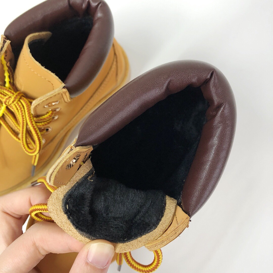 Baby Shoes Waterproof Shoes Designer Boots Sports Running Shoes Men Women Yellow Black Pink Sneakers Trainers 26-34