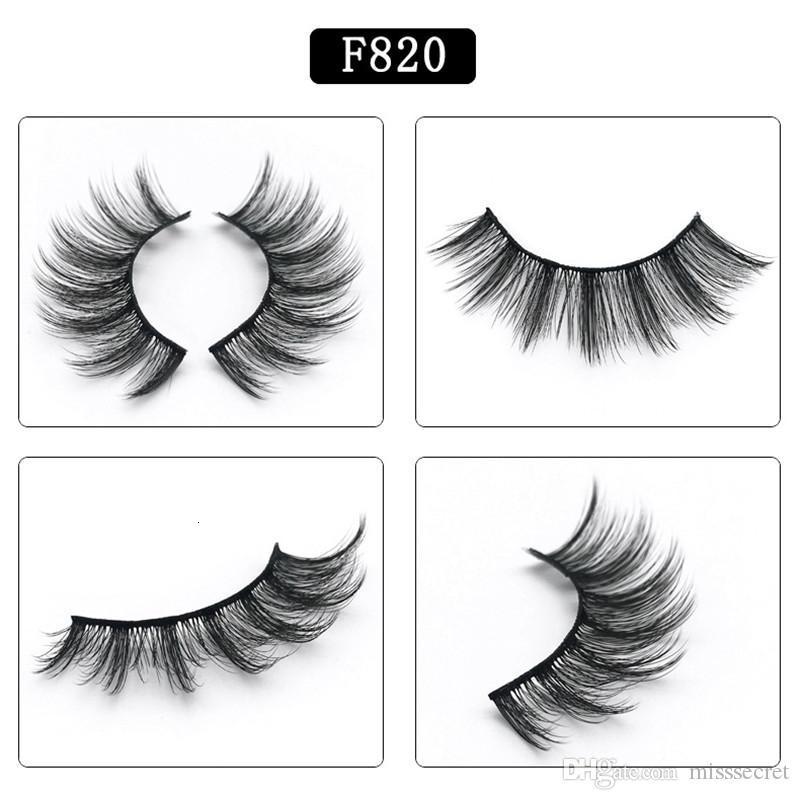 Newest 3d Mink Eyelashes Natural Thick False Eyelashes Mink Lashes Eye Makeup Make Up Eyelash Extension Fake Eyelashes Maquiagem