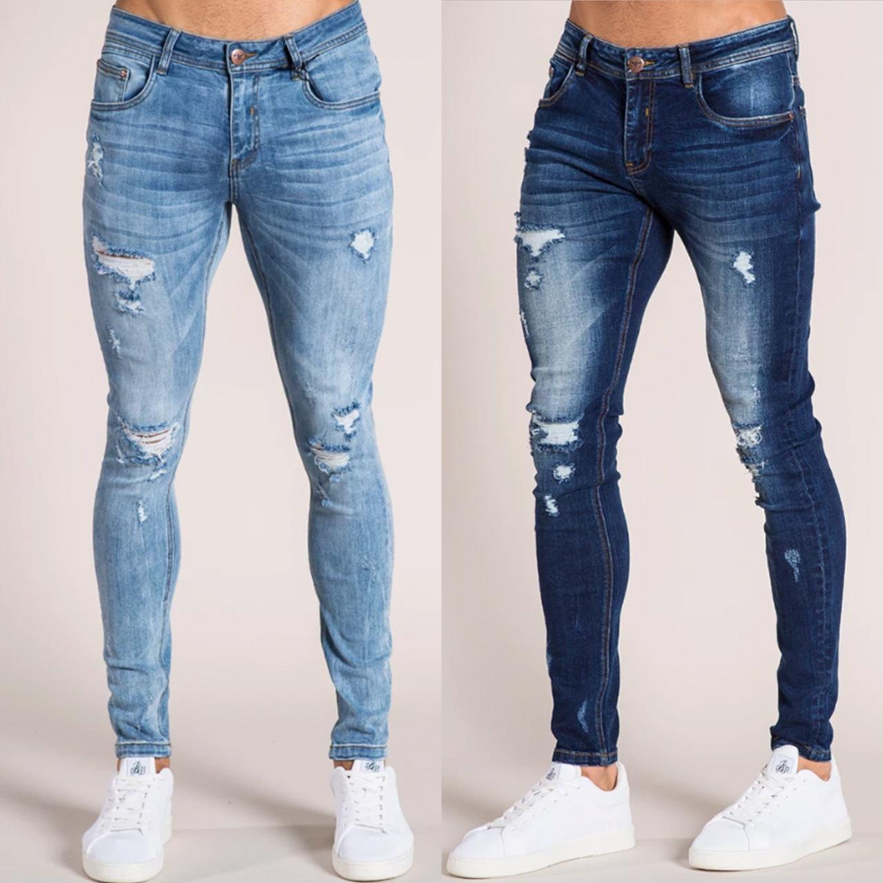 مدينة مؤلف موسيقى يقتل Jeans Super Skinny Hombre Rotos Analogdevelopment Com