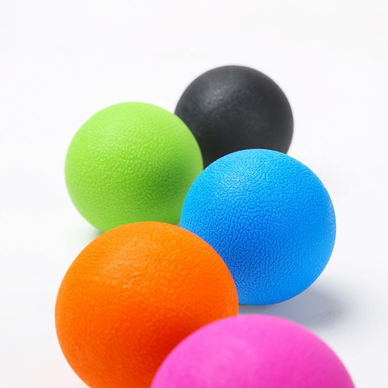 Fascia Ball Lacrosse Muscle Relaxation Exercise Sports Fitness Yoga Peanut Massage Ball Trigger Point Stress Pain Relief