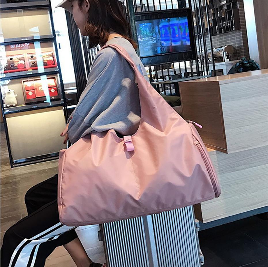 Waterproof Yoga Mat Bag Gym Fitness Bags for Women Men Training Sac De Sport Travel Gymtas Nylon Outdoor Sports Tas Sporttas105