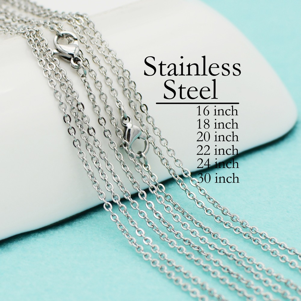 Stainless Steel 6 Lengths