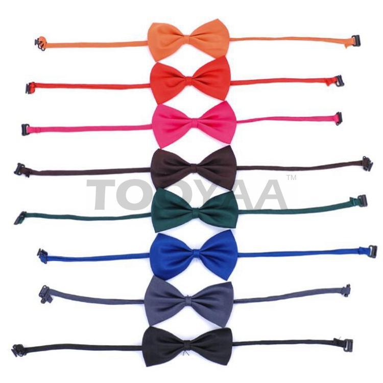 Adjustable Pet Dog Bows Rabbit Cat Tie Solid Bowtie Lovely Dog Puppy Apparel Decoration Pet Product Accessories