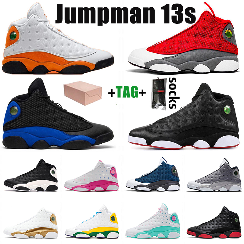 2021 WITH BOX Stock Jumpman X Top Quality 13 13s Mens Womens Basketball Shoes Retro Hyper Royal Starfish Sport Sneakers Trainers SIZE 13