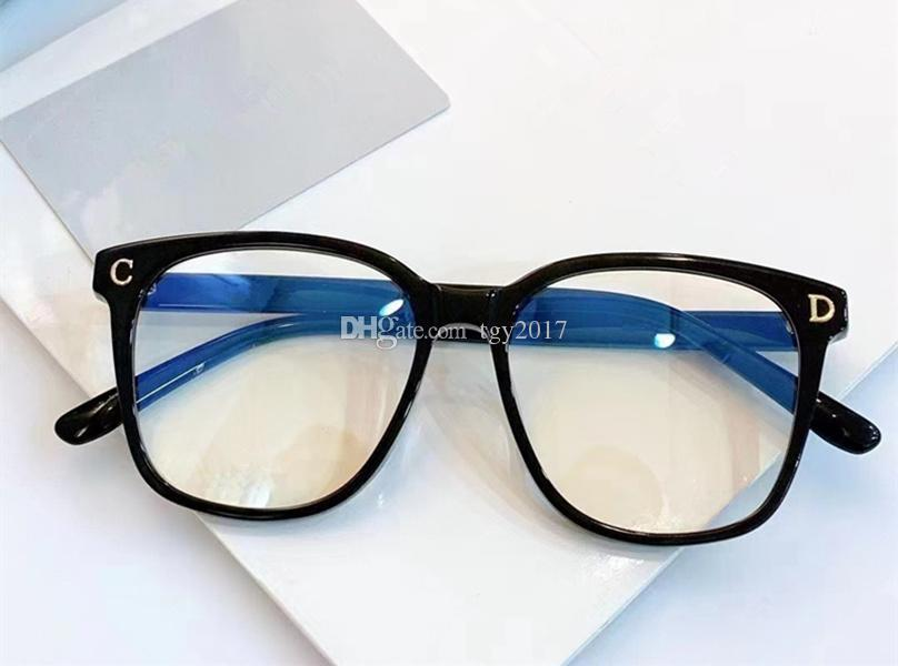 Newest Celebs Unisex Big-square Sunglasses Frame Plain Glasses 61-18-145 Plank fullrim for Prescription myopia eyeglasses fullset case