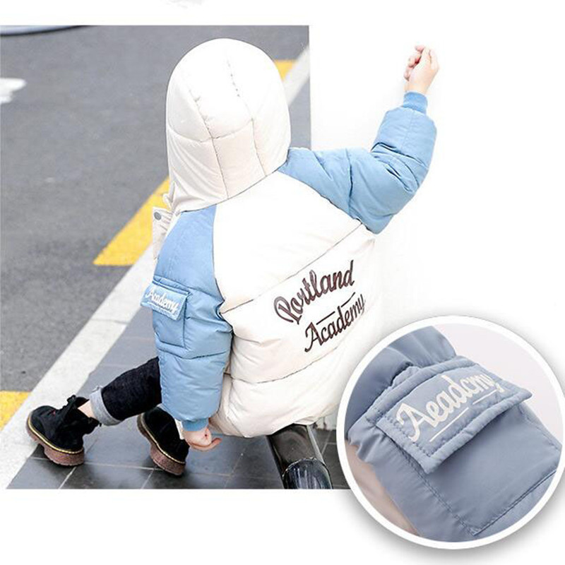 2020 Winter Boys Jackets Kids Hooded Outerwear Autumn Baby Boy Warm Jacket Children Clothing Baby Girls Outerwear Coat Jacket (5)