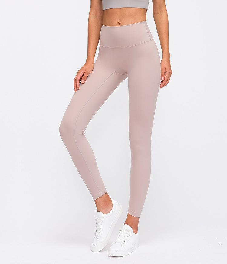 Yoga Pants High Waist Sport Leggings Women Solid Gym Wear Running Workout Push Up Pants Athletic Fitness Leggings