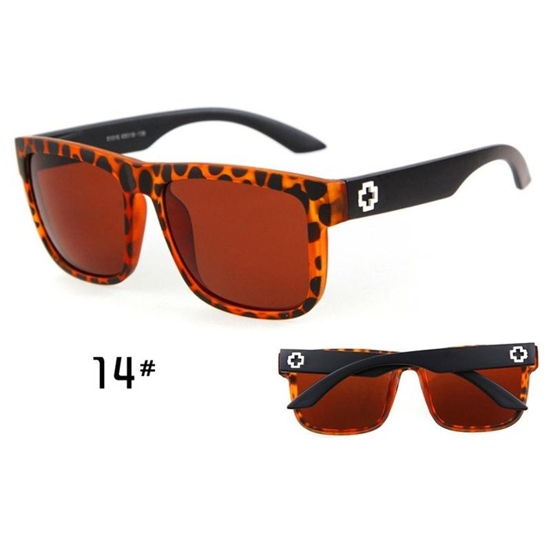 Sunglasses Men Sport Sunglasses Men Driving Mirror Coating Points Black Frame Eyewear Male Sun Glasses UV400 (11)
