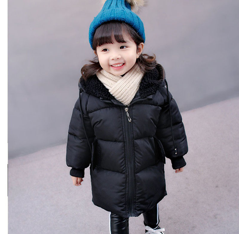 COOTELILI Winter Jackets For Girls Boys Winter Overalls For Girls Warm Coat Baby Boy Clothes Children Clothing 80-130cm (4)