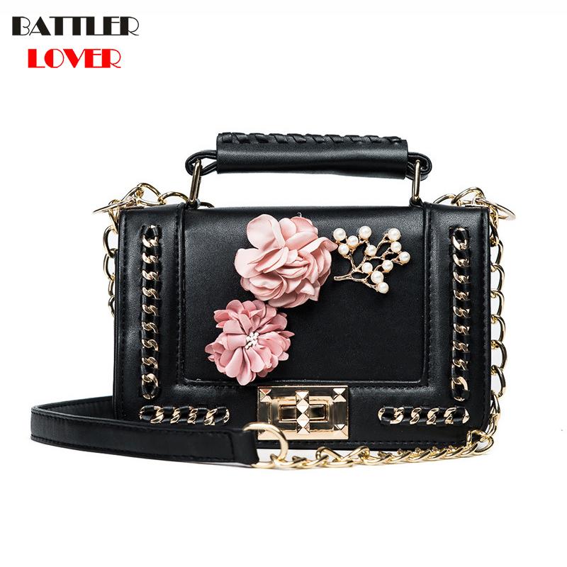 3D Flower Design Womens Small Clutch Bags Handbags Crossbody Bags Girl Shoulder Messenger Bag Women Mujer Handbag for Women