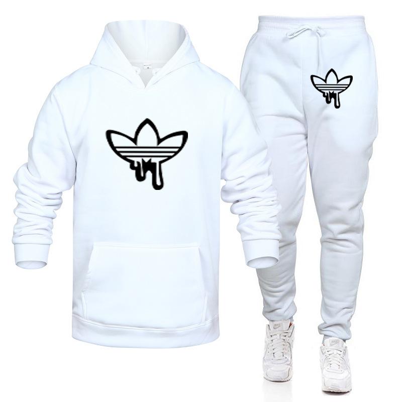 Hot Sale Mens Sports Suits Coat Tracksuit Sweatshirt Hoodies + Pants Set Male Sweatshirt Pullover Women Sport Tracksuit Sweat Suit