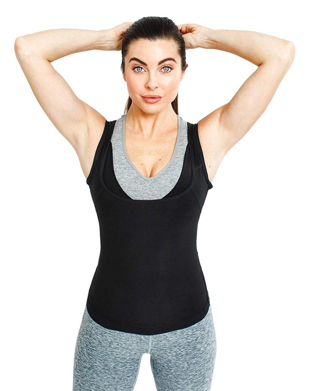 CXZD Sweat Shaper Vest for Men Women Slimming Belt Belly Slimming Vest Body Shaper Fat Burning Shaperwear Waist Traine Waist Sweat Corset (4)
