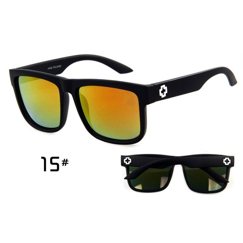 Sunglasses Men Sport Sunglasses Men Driving Mirror Coating Points Black Frame Eyewear Male Sun Glasses UV400 (12)