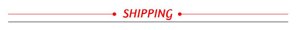 9. shipping