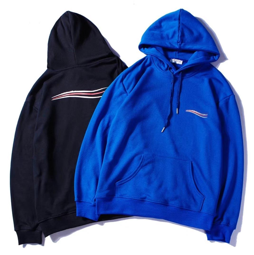 Mens Clothing Homme Hooded Sweatshirts Mens Women Designer Hoodies High Street Print Hoodies Pullover Winter Sweatshirts