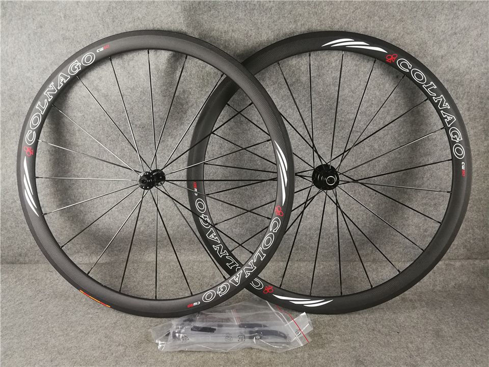 38MM Colnago Carbon Bicycle Wheelset