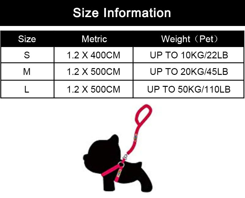 MySudui 4M Retractable Dog Leash Automatic Extending Reflective Nylon Dog Leads Leash Big Dog Leash Retractable For Large Dogs (3)