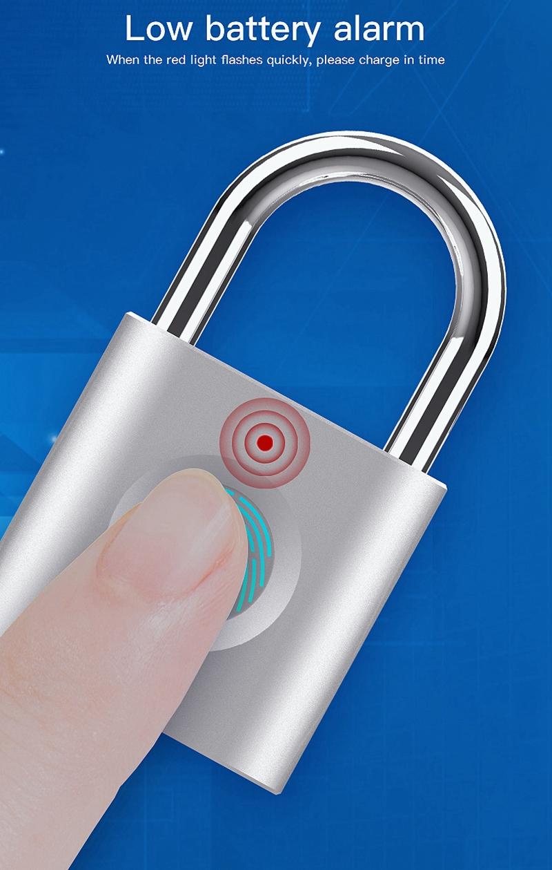Smart Fingerprint Padlock 8