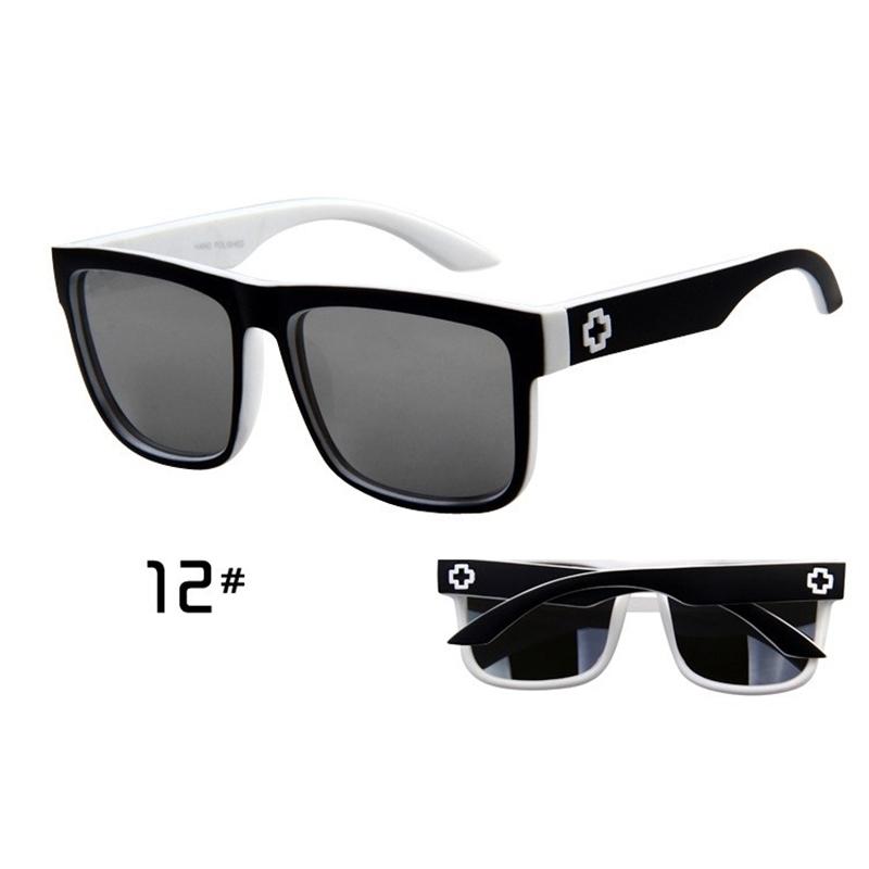 Sunglasses Men Sport Sunglasses Men Driving Mirror Coating Points Black Frame Eyewear Male Sun Glasses UV400 (10)