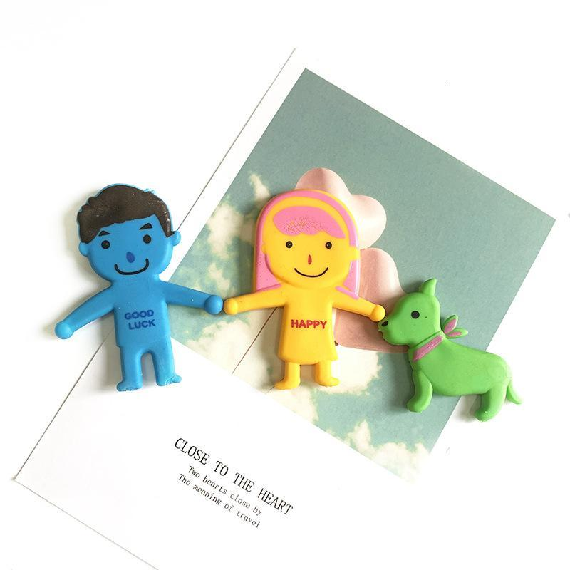 Novelty Vent Family Autism Relax Doll Squishy Gag Toy Family Dad Mum Son Daughter Dog Cat