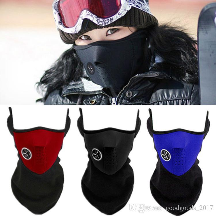Bicycle Face Mask Cycling hat Motorcycle Half Winter Warm Outdoor Sport Ski Mask Ride Bike Cap CS Mask Outdoor Snowboard Neck Veil mk881