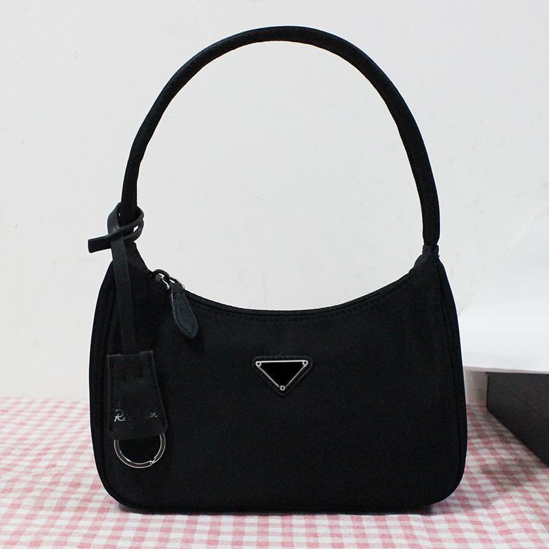 New Vintage nylon pleated cross body bag feel mini handbags women shoulder bag camera bags fashion camouflage purses chain tote key wallet