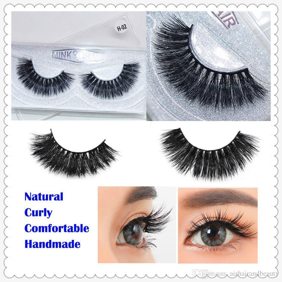Mink Lash 3D Mink Lash Private 3D Mink Eyelashes False Eyelash Eye Lash Custom Eyelash Packaging Box Individual Eyelash Extension Curly