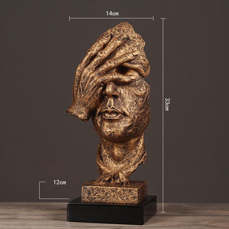 Resin Silence Figurines (20)