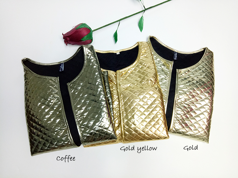 New Fashion Women J Lozenge Gold Sequins Short Jackets Three Quaters Sleeves Outwear Coats Female Casual Jackets Plus Size (2)