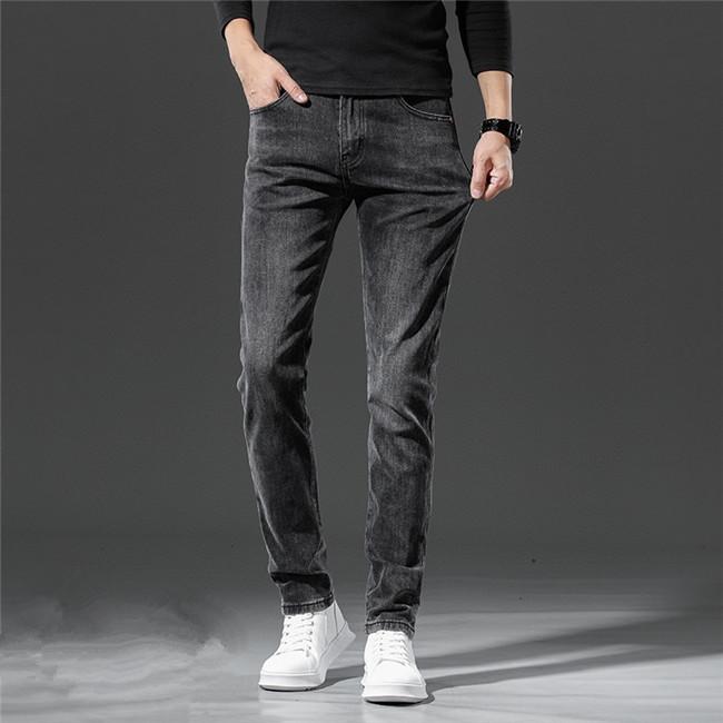 NEW Arrivals Designe Mens jean Autumn Luxury Mens Jeans Designer slim-leg jeans Cotton trousers pencil pants High Quality US EU size W28-W40
