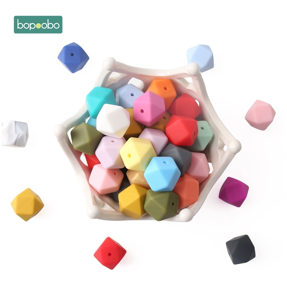 silicon beads baby teething