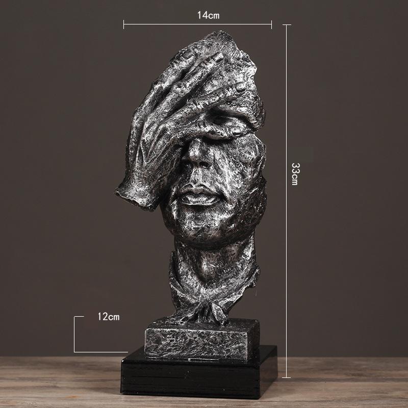 Resin Silence Figurines (18)