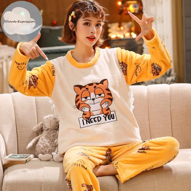 Winter-Long-Sleeved-Warm-Flannel-Pajamas-Women-Pajama-Sets-Print-Thicken-Sleepwear-Pyjamas-Plus-Size-Pajama.jpg_Q90.jpg_.webp (1)
